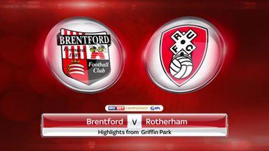 Brentford 4-2 Rotherham