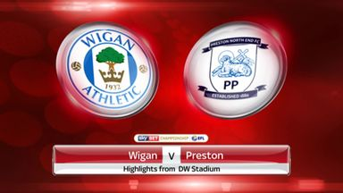 Wigan 0-0 Preston