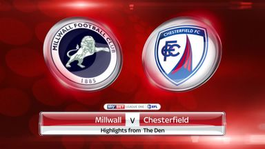 Millwall 0-0 Chesterfield