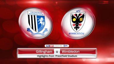 Gillingham 2-2 AFC Wimbledon