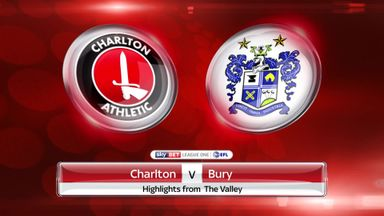 Charlton 0-1 Bury