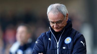 Claudio Ranieri says his 'dream has died' after he was sacked by Leicester City