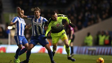 Brighton moved top of the table with a win over Reading