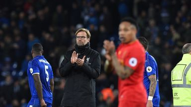 Jurgen Klopp admits Liverpool's situation is getting serious