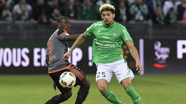 Kevin Malcuit (right) has impressed for St Etienne this season