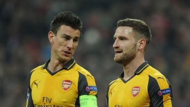 Laurent Koscielny says Arsenal must improve to take the pressure off Arsene Wenger