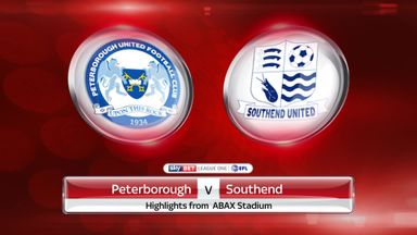 Peterborough 1-4 Southend