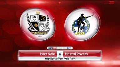 Port Vale 1-1 Bristol Rovers