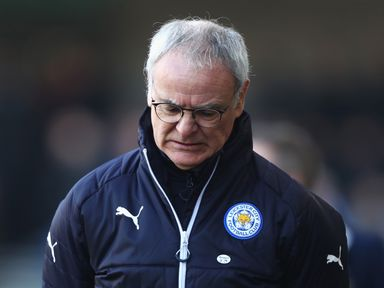Claudio Ranieri: Feeling the pressure