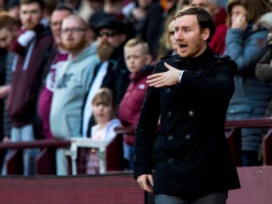 Ian Cathro wants his Hearts players to be more clinical in front of goal