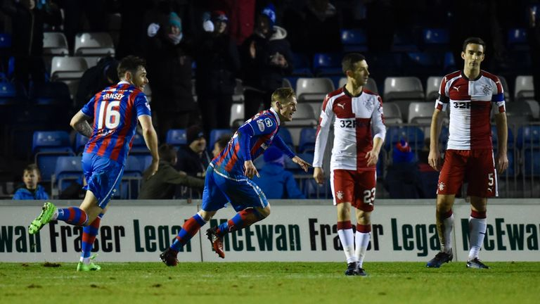 Billy McKay's second goal of his second spell at Inverness gave them victory over Rangers