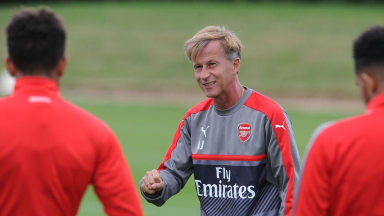 Andries Jonker has left Arsenal to become Wolfsburg boss