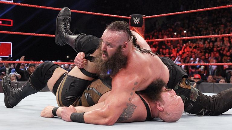 WWE Raw - Big Show v Braun Strowman