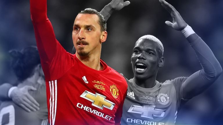 Zlatan Ibrahimovic stole the show for Manchester United in their EFL Cup win over Southampton