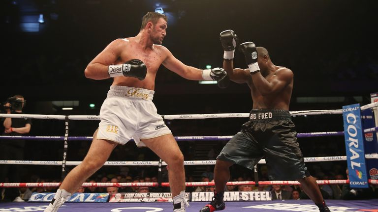 Hughie Fury appears to be in pole position to fight Parker next