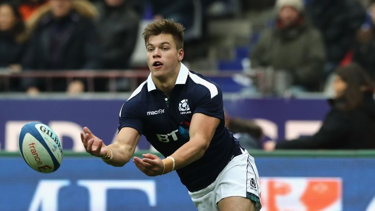 Scotland international Huw Jones has joined Glasgow from the Stormers
