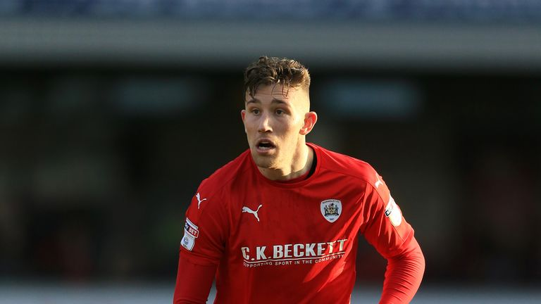 Angus MacDonald will be back in contention for Barnsley