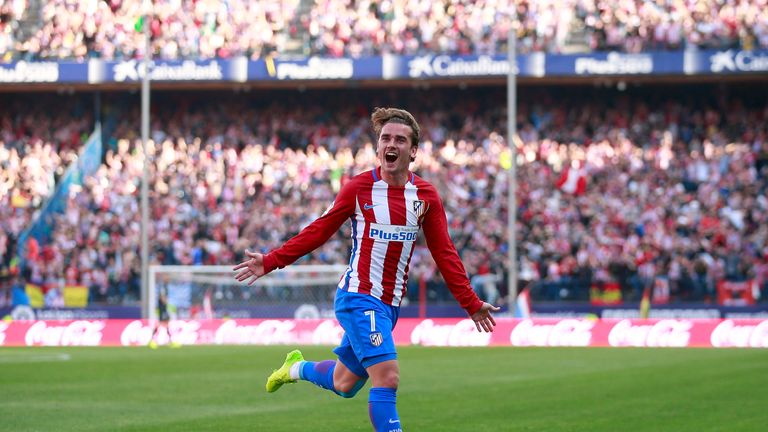 Griezmann has scored 22 times for Atletico this season