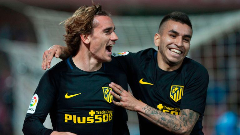 Antoine Griezmann has scored four goals in his last three games