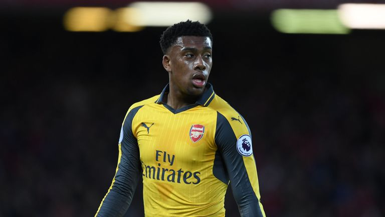 Alex Iwobi has come through the Arsenal academy