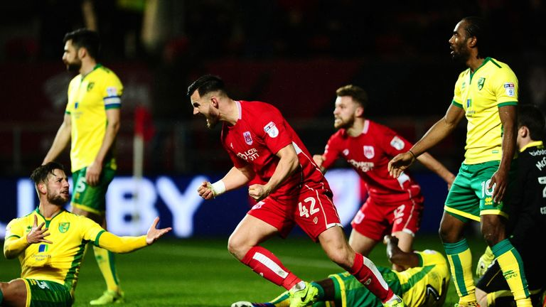 Bailey Wright: Could miss out for Bristol City