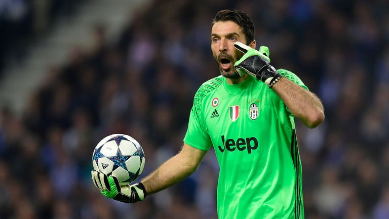 Gianluigi Buffon could be available on a free transfer next July