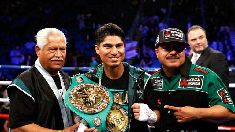Mikey Garcia holds the WBC title and could target the winner of Linares-Crolla II