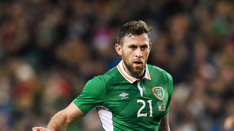 Daryl Murphy will not line up against Wales