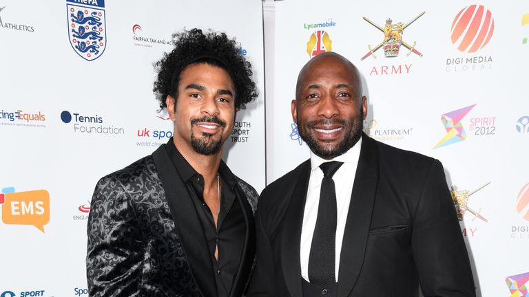 David Haye and Johnny Nelson were among the guests at BEDSA awards