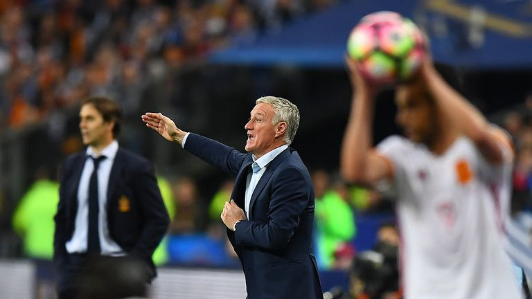 Didier Deschamps may make a number of changes to France's starting lineup