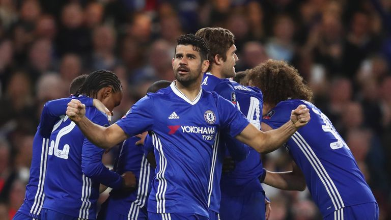 Diego Costa has learnt to control his emotions, believes Thibaut Courtois