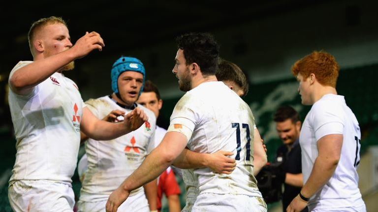 England Under 20 scored five tries in their victory over neighbours Scotland