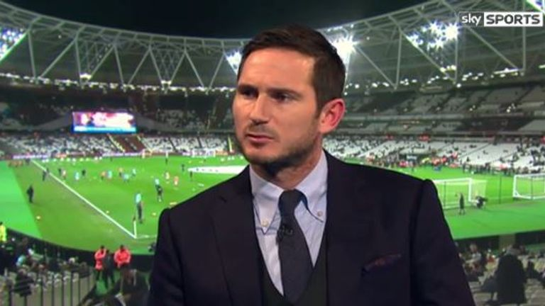 Frank Lampard joined Jamie Carragher and David Jones on Monday Night Football