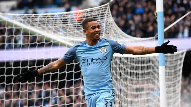Gabriel Jesus could be back for Man City at Wembley