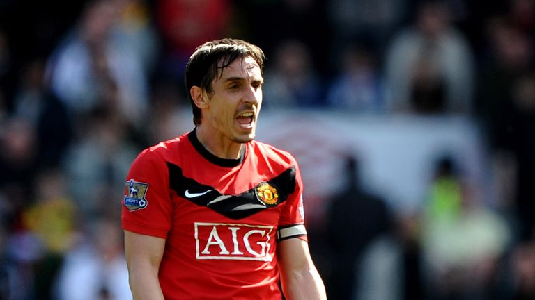Former Manchester United captain Gary Neville donated £20,000 towards GB's deaf football team last year