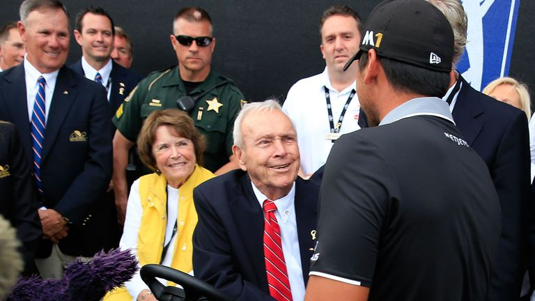 Rickie Fowler, Rory McIlroy Share Tributes To Arnold Palmer Before Bay Hill