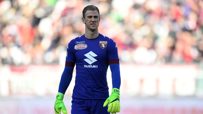Hart is currently on loan at Torino