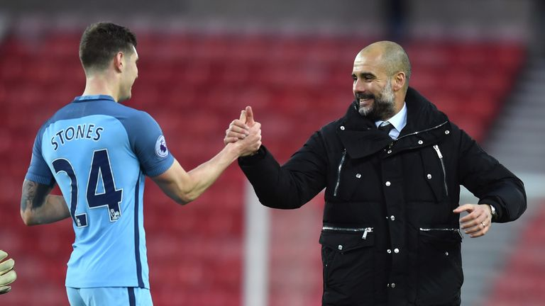 John Stones was a key part of Guardiola's team rebuild when he arrived at Manchester City