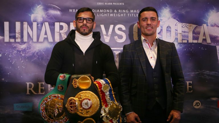 Jorge Linares vows to knock out Anthony Crolla in rematch