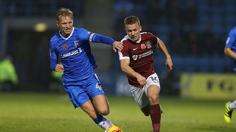 Wright was named Gillingham captain at the beginning of the season and has gone on to enjoy his most productive season in front of goal