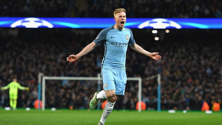 Kevin De Bruyne joined Manchester City in 2015