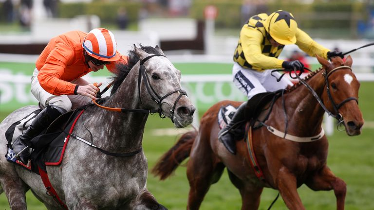 Labaik: For sale at Aintree.