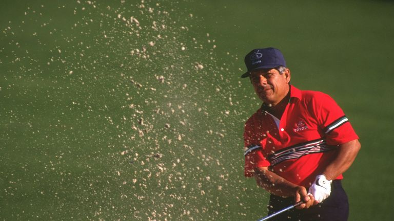 Lee Trevino was unable to win the coveted Green Jacket at The Masters