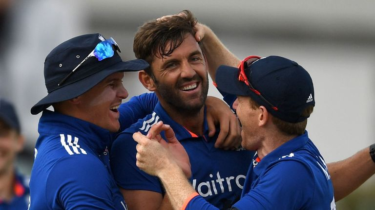 Would Liam Plunkett (centre) make your England XI for the ICC Champions Trophy?