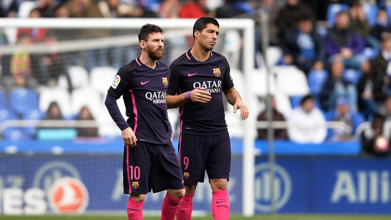 Barcelona are looking to bounce back from their defeat at Deportivo