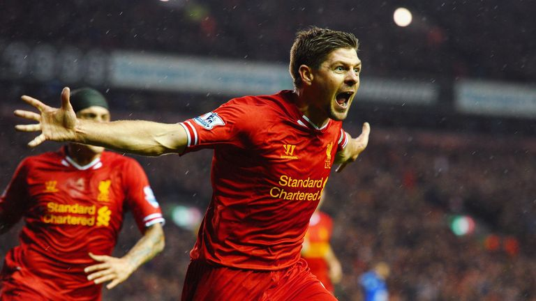 Steven Gerrard is one of Liverpool's all-time greats
