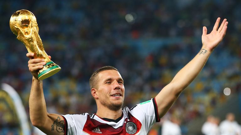 Tokeo la picha la Lukas Podolski to Japan - sky sports