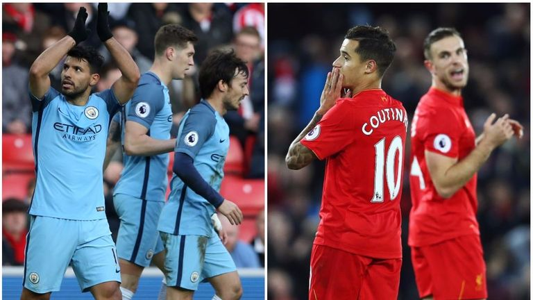 Man City and Liverpool will make the top four, says the Sky Sports Premier Predictor