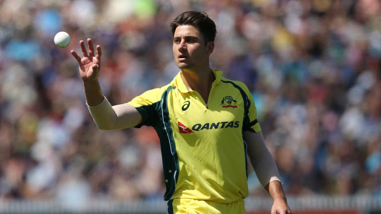Marcus Stoinis is part of Australia's ODI squad to face England