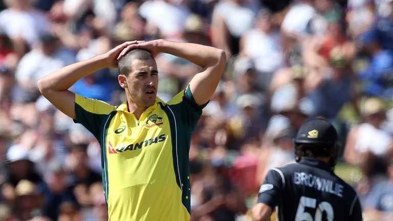 Mitchell Starc ruled out of Bangladesh tour due to foot injury